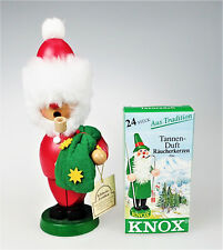 Smoking Wood Santa Echtheits Knox Pine Incense Smokers Holiday No Arm 22 Incense