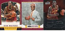 ROOKIE INVESTMENT LOT (100) DION WAITERS 2012-13 RC BRILLIANCE HOOPS PANI BV$120