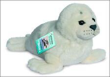 Teddy Hermann Robbe weiß 33 cm Seehund 90139 Kuscheltier Plüschtier Stofftier
