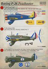 Imprimé échelle 1/72 Boeing P-26 Peashooter # 72090