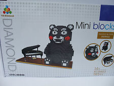 Kumamon ( Diamond  Blocks Age 14) 1800 Pieces