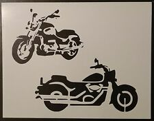 """Motorcycle Motorcycles Bike Bikes 11"""" x 8.5"""" Stencil Fast Free Shipping"""
