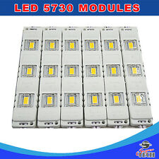 200 x 3 LED Cool White 12V, 5730 SMD Module Waterproof Light Lamp ShopFront Sign
