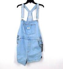 Levi's Denim Shortalls in Short and Sweet Size Large Vintage Retro MSRP $98
