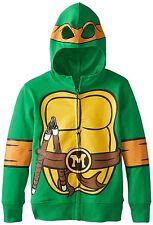 FREEZE Teenage Mutant Ninja Turtles Michaelangelo Hoodie Green 6X/7
