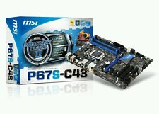 NEW☆☆MSI P67S-C43 Intel Socket Lga 1155 Motherboard DDR3 Military Class
