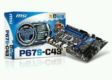 NUOVO ☆☆ MSI P67S-C43 Intel Socket LGA 1155 DDR3 scheda madre classe militare