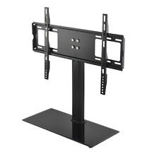 "Universal Adjustable 37""-55"" Tabletop TV Stand Bracket Pedestal Lcd Led Vesa Uk"