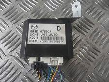 2006 MAZDA 6 2.0 diesel auto lumière unité de contrôle module gr3d67890a écus