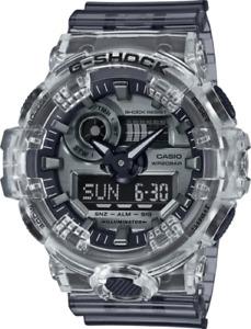 New Casio G-Shock GA700SK-1A Ana-Digital Semi-Transparent Resin Strap Watch