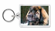 Black Leonberger 'Love You Mum' Photo Keyring Animal Gift, AD-L56lymK