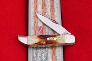 Case XX R51165 Genuine Red Stag Pocket Hunter Knife - USA 9582 - NICE!!!