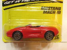 MATCHBOX 1994  MUSTANG MACH III RED #15