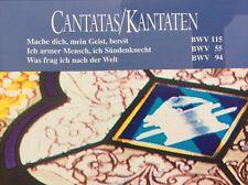 CD Bach Kantaten BWV 55/94/115 Holland Boys Choir & Netherlands Bach Collegium