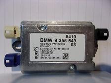 NEW BMW F20 F30 G30 X3 X5 ORIGINAL CONNNECTOR HUB USB 9355549