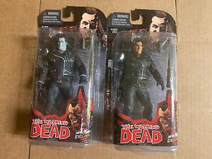 The Walking Dead McFarlane Toys Skybound Negan Comic Action Figure + B&W Variant