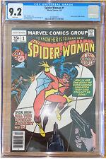 Spider-Woman #1 CGC 9.2 White Pages New Origin Jessica Drew