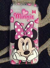 iPhone 7 Disney Mickey Minnie Mouse Phone Case Protective Gift Soft Silicon Cute