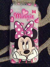 Iphone 6 Plus y 6s Plus Disney Mickey Minnie Mouse teléfono Caso Protector De Regalo