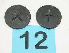 82-02 Camaro Firebird Dark Gray Seat Belt Buckle Bolt Covers  #12