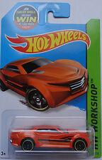 2014 Hot Wheels HW CITY Ryura LX Col. #5 (Orange Version)(Win Card)