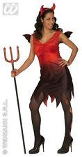 Rouge S WIDMANN 44351 - Cotume da Diavolea in Taglia Giocattolo (nvu)