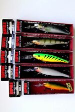 Lot of 5 Superb RAPALA Minnow Rap MR Lures Assorted
