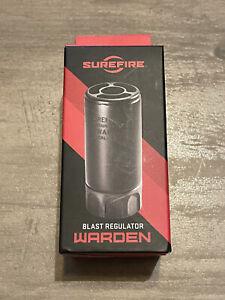SureFire Warden Muzzle Device Fast-Attach Blast Regulator- Dark Earth...