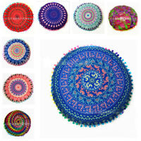 Indian Round Mandala Beach Bohemian Throw Hippie Yoga Mat Towel Tapestry Blanket