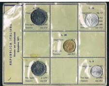 MONETE PER COLLEZIONISTI-REPUBBLICA ITALIANA-SERIE 1971 UNC L5, 10,20,50,100