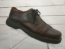 Clarks Active Air Brown Leather Casual Lace Oxfords Shoes #37322 Men's 12 M