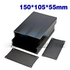 150x105x55mm Aluminum Enclosure PCB Shell Cooling Box Case Split Type