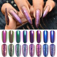 Chameleon Effect Nail Glitter Powder Mirror Dust Nail Art Pigment Decoration DIY