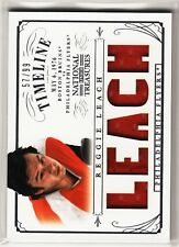 2013-2014 National Treasures Timeline Relic Reggie Leach Flyers 57/99