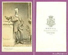 CDV BREUIL à BAR-LE-DUC : HOMME DE LA BOURGEOISIE EN POSE VERS 1870  -J4