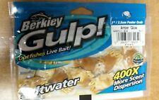 "BERKLEY #GSPC1AG GULP 1"" PEELER CRAB AMBER GLOW 5Ct OUTFISHES LIVE BAIT 100% BIO"