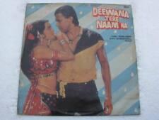 DEEWANA TERE NAAM KA Raam-Laxman LP Record Bollywood India-1044