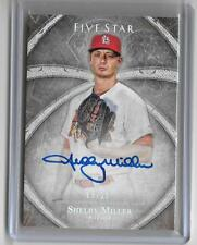 SHELBY MILLER 2014 TOPPS FIVE STAR AUTOGRAPH AUTO #8/25
