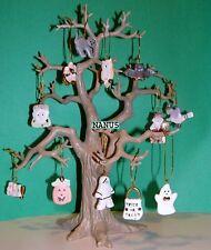 LENOX HALLOWEEN TRICK or TREAT TREE plus12 miniature Ornaments set NEW in BOX