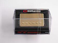 DiMarzio Regular Spaced PAF FULL VINTAGE Bridge W/Gold Cover DP 223
