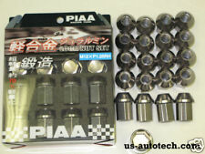 PIAA Locking Lug Nuts GUN METAL 12 x 1.25