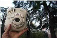 Transparent Protective Shell Camera Case Bag APLE For Fuji film Instax Mini 25