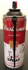 Mr Brainwash Spray Can Signed Sculpture (Black) Campbells Soup Ltd Ed MBW Obey