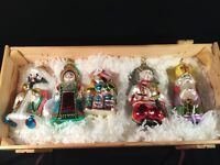 """POLONAISE VINTAGE BOXED SET """"RUSSIAN COLLECTION"""" CHRISTMAS ORNAMENTS 1995"""