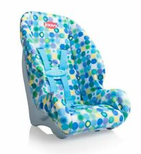 Joovy Doll Toy Booster Seat - Blue Dot, Kids Girl Boy Toy Doll Accessory