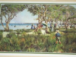 Crawley WA 1917 by Duncan McGregor Whyte 1866-1953 Scotland Australia Framed Pri