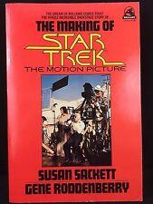 The Making of Star Trek The Motion Picture Susan Sackett Gene Roddenberry 1980