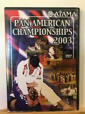 Used ~ ATAMA Pan American Championships 2003 Jiu-Jitsu Championship (DVD, 2003)