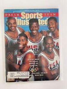 Sports Illustrated February 18 1991 Michael Jordan Dream Team Olympics Magazine