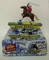 GENE AUTRY WIND UP TIN TOY NEW IN BOX WITH CERTIFICATE OF AUTHENTICITY